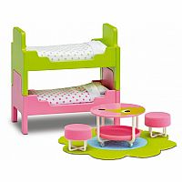 Smaland Children's Bedroom Set Pink
