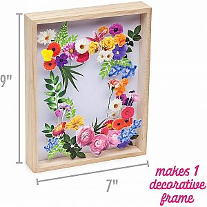 DIY Flower Art Craft Crush