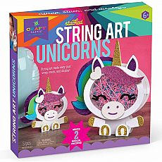 Stacked String Art Unicorns
