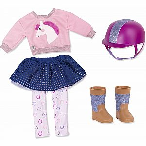Gallop & Glow Deluxe Riding Outfit 14""