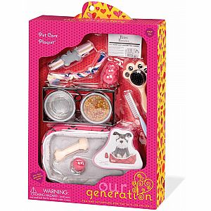 Pet Care Accessory Set (Dog)