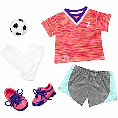Soccer Outfit W/Neon 18
