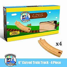 "Track 4-Pack, 6"" Curved"
