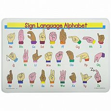 Sign Language Placemat
