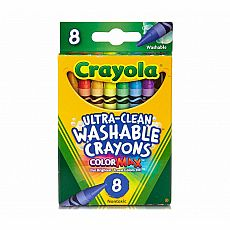 Washable Crayons 8ct