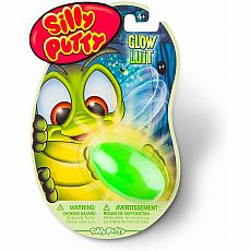 Glow in the Dark Silly Putty (Assorted Colors)