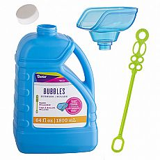 Bubble Solution 64oz Funnel & Wand