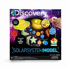 Discovery Solar System 3D Kit