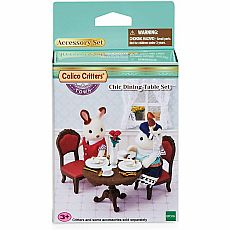 Chic Dining Table Set Calico Critter