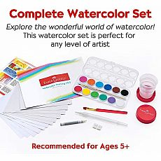 Young Artist Learn to Watercolor Set