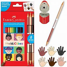 World Colors EcoPencils 15ct