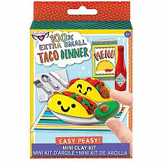 Taco Dinner Mini Clay Kit