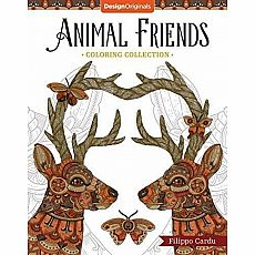 Animal Friends Coloring Book