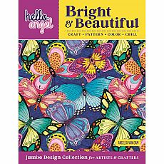 Bright & Beautiful Coloring Book