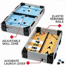 2 in 1 Game Center Hockey Shuffleboard