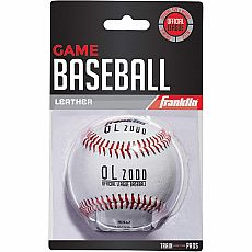 Leather Baseball, Blister