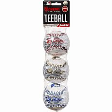 Chrome Teeball 3pk Softstrike MLB