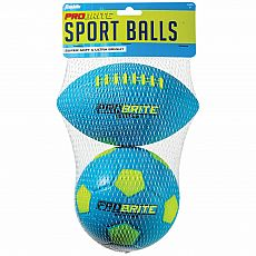 Mini Foam Football & Soccer Ball Probrite