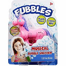 Fubbles Bubble Unicorn