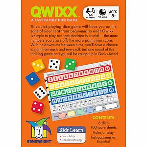 Qwixx Dice Game