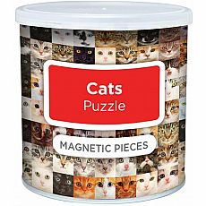 100pc Magnetic Cat Puzzle