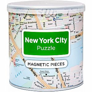 100pc Magnetic City Puzzle - New York