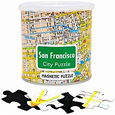 100pc Magnetic City Puzzle - SF