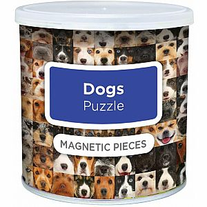 100pc Magnetic Dog Puzzle