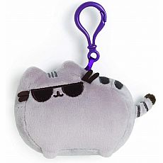 Pusheen Backpack Clip w/Sunglasses 4.5