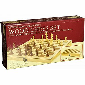 "Chess Set 2.5"", Deluxe Wood"