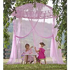 Pink Sparkling Lights Indoor/Outdoor Canopy