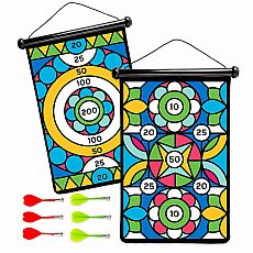 Geometric Magnetic Darts Game