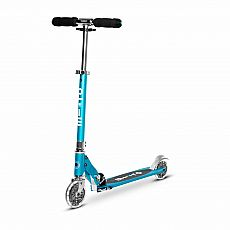 Sprite Ocean Blue LED 2 Wheel Scooter