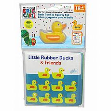 Little Rubber Ducks Bath Book