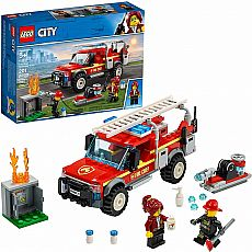 LEGO Fire Chief Response Truck City
