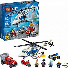 LEGO Police Helicopter Chase City