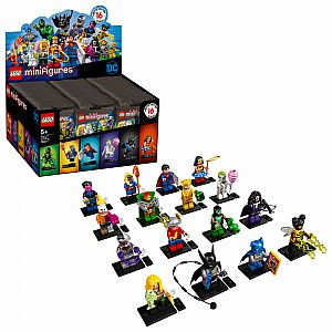 Bundle of 4 LEGO Minifigures DC Super Heroes (Mystery Pack)