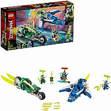 Jay and Lloyd's Velocity Racers Ninjago