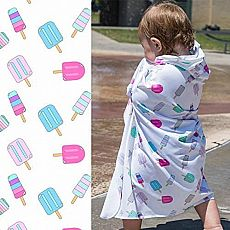 Sunscreen Towel with Hood Popsicles