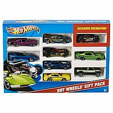 Hot Wheels 9 Car Gift Set