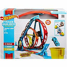 Hot Wheels Track Builder Triple Loop
