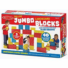 Deluxe Jumbo Cardboard Blocks 40pc