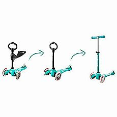 3In1 Micro Mini Deluxe Aqua Scooter