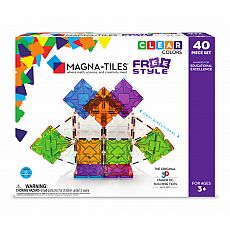 Magna-Tiles X Freestyle 40pc
