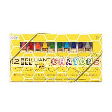 Brilliant Bee Triangular Crayons 12pk
