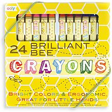 Brilliant Bee Triangular Crayons 24pk
