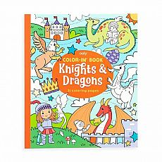 Knights & Dragons Color-in Book