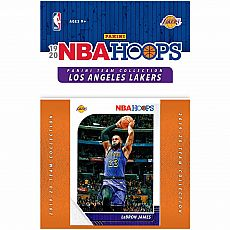 19/20 LA Lakers Hoops Team Set Basketball Trading Cards