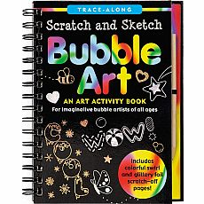 Scratch and Sketch Bubble Art