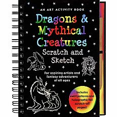 Scratch & Sketch Dragons & Mythical Creatures